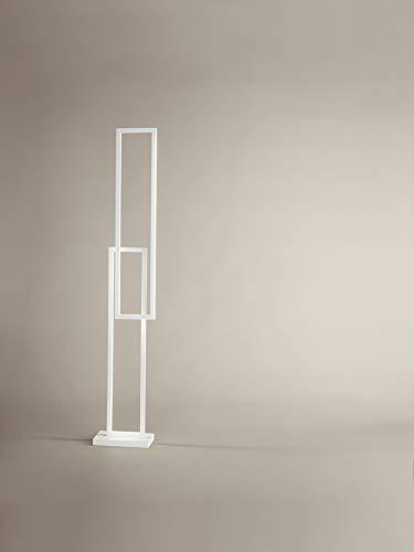 Tafellamp, staande lamp, hanglamp van gelakt aluminium, zwart serie Cross