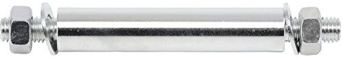 Kraftmann 80949 | Juego de ejes para rueda de carretilla | Ø 20 mm