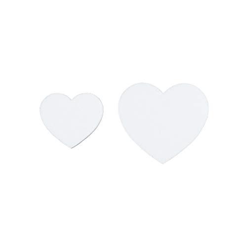 Exquisite, elegant Mode-Bolzen-Ohrringe for Mädchen-Liebes-Herz-Asymmetrische Ohrringe einfachen Art-Normallack-Ohr-Anhänger-Pfirsich-Herz-Bonbon Kurzen Abschnitt Ohrschmuck Ohrring ( Color : White )