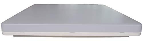 PLAFONIERA LED QUADRA NOVALUX LUNA LUCE 4000K 19W 104306.01 O 36W 104308.01 IP44 (36)