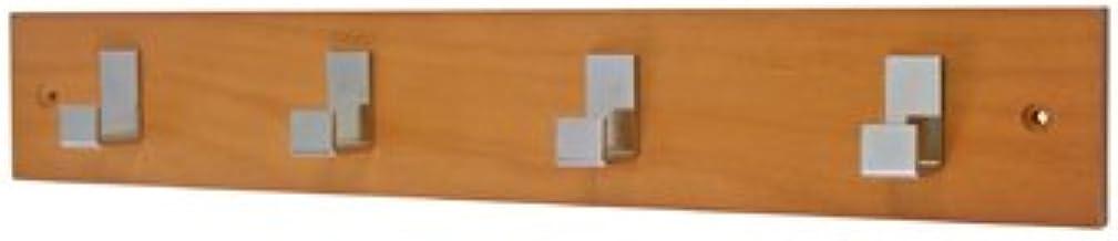 Headbourne hr1073h deurgarderobe chroom met fixer 4 haken