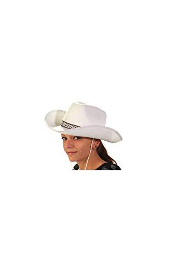 Chapeau Feutre Cow Boy Blanc