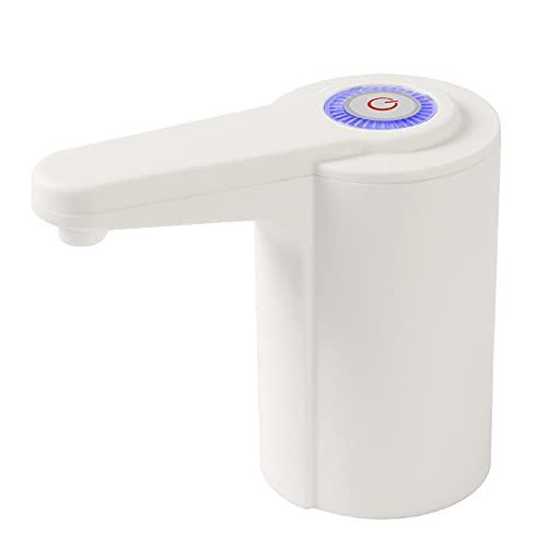 Dispensador Agua para Garrafas con Adaptador Eléctrico Automático Extraíble Recargable USB Botellas Agua Fria Y Caliente Bomba De Agua