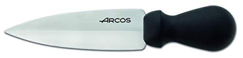 Arcos Utensilios Profesionales, Cuchillo Parmesano, Hoja de Acero Inoxidable 140 mm, Mango de Polipropileno Color Negro