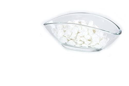 25 roses - Décoration pour mariage - Fleurons satin - Roses 15mm - Set Blanc
