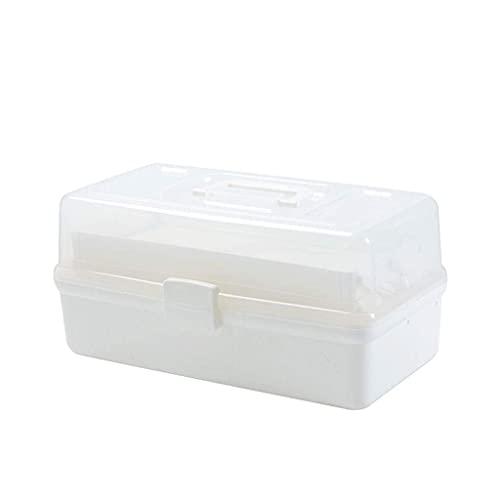 QIXIAOCYB Caja de Almacenamiento Caja de Medicina doméstica Caja de Gran Capacidad Multi-Capa Medica Medica MEDICIAL DE Emergencia Caja de Almacenamiento de Emergencia Medicina de pie (Size : M)