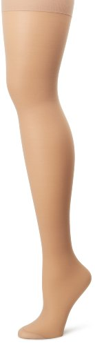 Hanes Silk Reflections Women's Alive Full Support Control Top Pantyhose, Nude, F