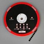 TapeCase Circles Black Hook 0.75
