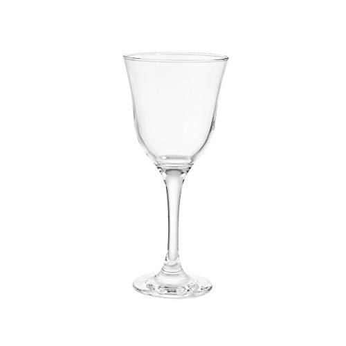 BUTLERS Apéro 6er Set Weingläser 295 ml - Transparentes Stielglas-Set für 6 Personen - Weißweingläser, spülmaschinenfest