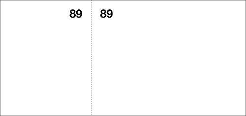Apli 12937 - Talonario Vales de Caja 1-100, Color Blanco, 1 Unidad