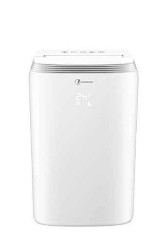Haverland TAC-1219 Mobiele airconditioner met een laag verbruik, 3 functies, koelventilatie, ontvochtiging, energie-efficiëntieklasse A, stil, afstandsbediening
