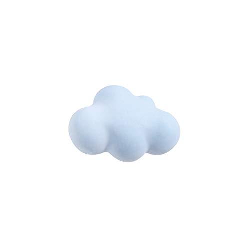 DLRBWAN Base de jabón Molde de la Nube 3D Vela perfumada con el Carro de DIY Outlet Outlet Outlet Decoration Molde de Cera de Soja 2pcs