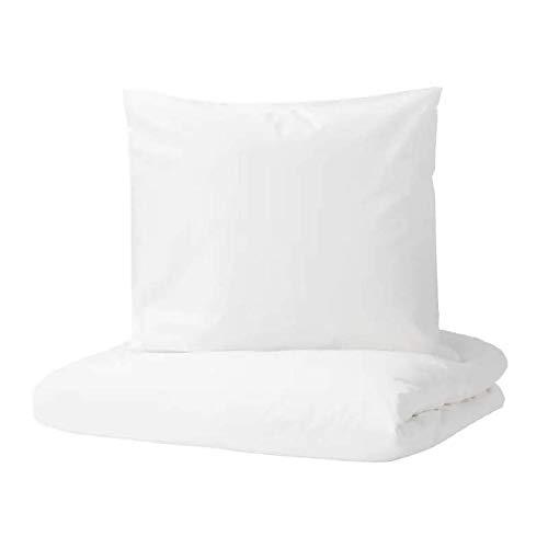 Juego de ropa de cama DVALA, 3 teilig, blanco