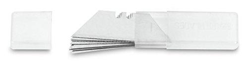 3Claveles 238 - Set de 10 cuchillas trapezoides perforadas