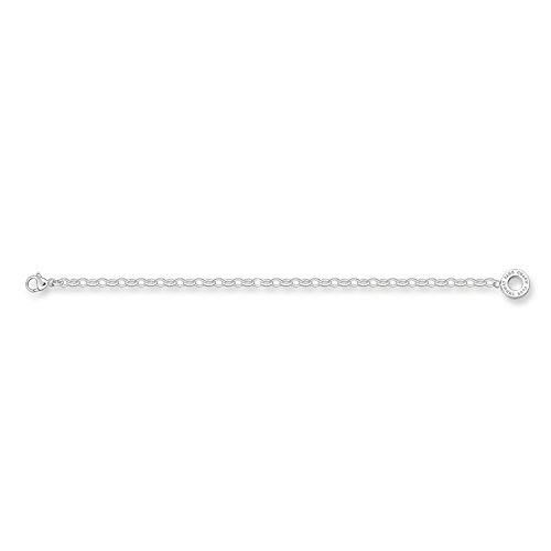 Thomas Sabo Damen Charm-Fußkette 925er Sterling Silber Länge: 24 cm X0034-001-12-S