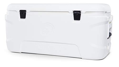 IGLOO Outdoor Marine Contour 120 Kühlbox, Weiß, 113 Liter