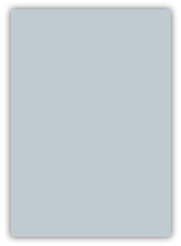 50 Blatt farbiges Premium Briefpapier Caribic Format DIN A5 ( 148 x 297 mm ) Farbe Briefbogen Silbergrau, Karibik Papier