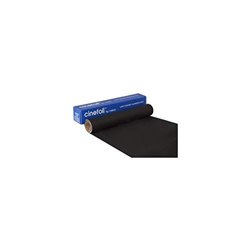 """Rosco Matte Black Photofoil, 12"""" x10' Roll"""