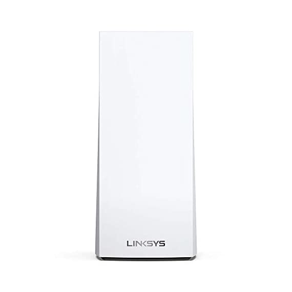 Linksys AX5300 Smart Mesh Wi-Fi 6 Router Whole Home WiFi Mesh System,Tri-Band AX Wireless Gigabit Mesh Router, Fast… 10 Mesh Wi-Fi router provides next-gen Wi-Fi 6 speeds and whole-home mesh coverage Bandwidth for 50+ wireless devices and coverage for homes up to 6000 square feet Provides ultra-fast, reliable Wi-Fi coverage for 4K streaming, gaming, and more