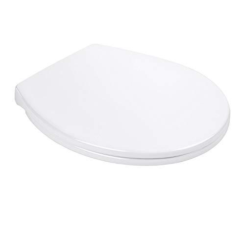 Tapa WC Dalmo, Tapa Wc de Plástico con Cierre Lento Resiste