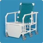 Innovative Products Unlimited BSC650RCFS Bariatric Reclining Shower Chair Commode