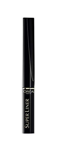 L'Oréal Paris – Liner Pinceau – SuperLiner Black Lacquer – Couleur : Noir Laqué – 2 ml