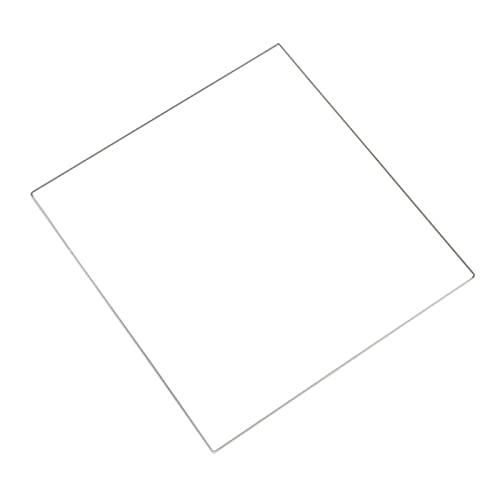 XBaofu 1pc 200 * 200 * 3 mm de Vidrio borosilicato Tamaño de la Placa de Cristal en láminas for la Impresora 3D climatizada Cama