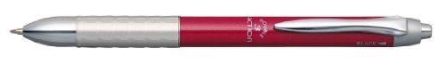 ダブルアクション バインダークリップ付き3機能複合筆記具 [黒+赤+シャープペンシル] 0.7mm #11スカイレッド MWBK-3000