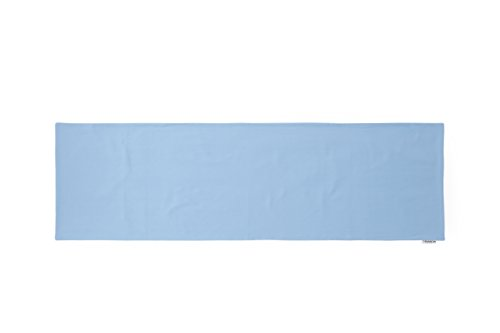 COMODO 透けにくい厚生地仕様の無地抱き枕カバー サイドファスナータイプ 被せやすい横ファスナータイプのだき枕カバー 150cm × 50cm タイプ, モーニングスターブルー