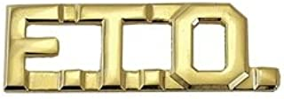 Metal Rank Insignia, F.T.O, Gold, PR