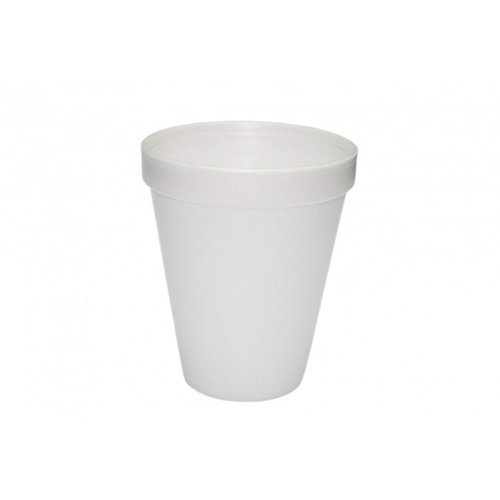 Gobelet isotherme-pS-styro-blanc - 300 ml-lot de 25