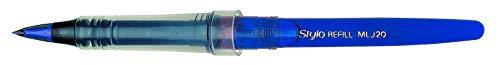 Pentel MLJ20-Co Tradio Stylo - Cartucho de recambio para bolígrafo Tradio Stylo, color azul