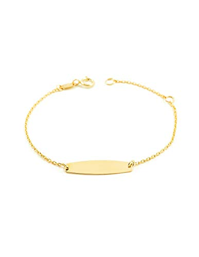 9ct geel goud baby armband