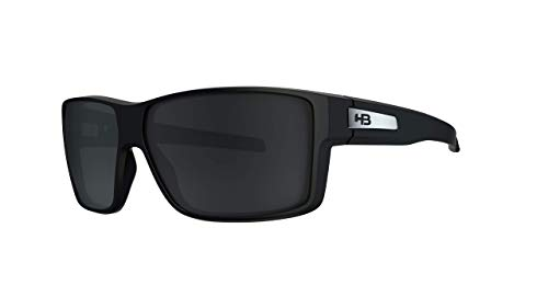 Óculos de sol Big Vert HB Adulto Unissex Preto Brilhante Único