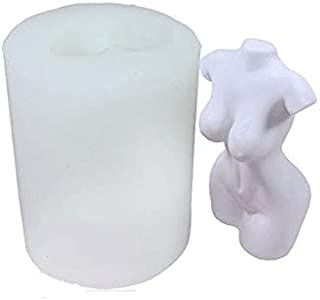 Woman Silicone Candle Mold 3D Female Body Mold Soap Making Tool