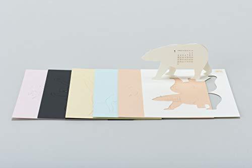 パーツは紙から外して折り曲げるだけ。簡単に組み立てられます。