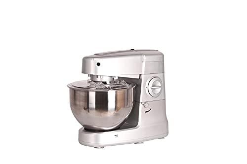 Royal Swiss - Robot de cocina (amasadora) de 8 litros 1400W incluye (gancho de mezcla, gancho de amasar, batidor de acero inoxidable)