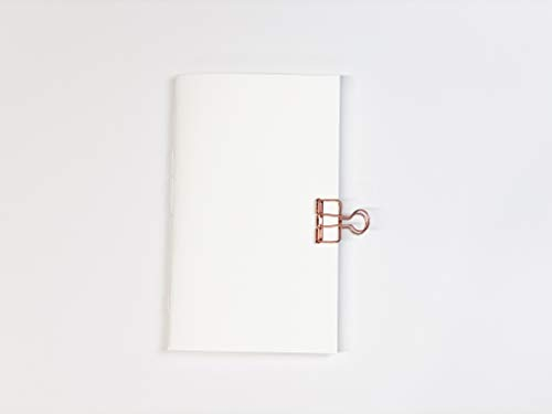 Cold Press Watercolor Paper Travelers Notebook Insert Refill - Standard - A5 - B6 Sizes