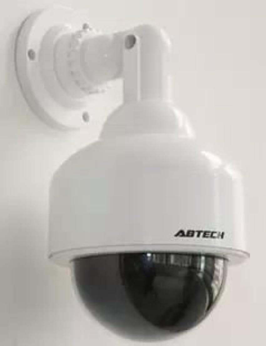 落胆させる愛する文献【Lulu LAB】 赤外線 スピードドーム型ダミーカメラ LEDランプが常時点滅で不審者を常に威防 犯カメラ セキュリティ ダミー (lu-dca-005)