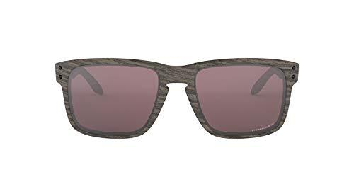 Oakley Oo9102 55 9102b7 Occhiali da Sole, Multicolore (Woodgrain), 57 Uomo