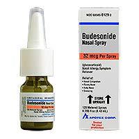 Budesonide Nasal Spray, 32 mcg - Packaging May Vary
