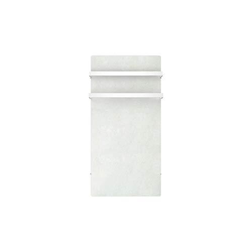 MAZDA Dual Kherr 1000 watts Radiateur Seche-serviettes électrique a inertie pierre - Sable blanc