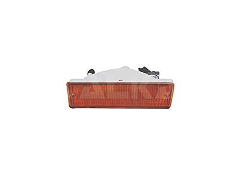 Alkar 3306327 Droit, feu parachoc, sans porte-lampe, orange