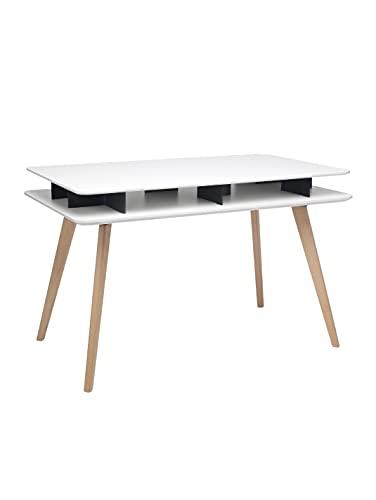Spider - Tavolo Consolle in legno massello/mdf 120x70x75 - FBasic   Casa Ufficio Scrivania Pc