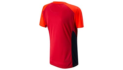 New Balance ECB Replica T20 Women's Short Sleeve T-Shirt, Flame, Large