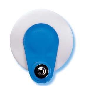 Ambu Blue Sensor SP Klebeelektroden 38 mm Druckknopf 50 St. Einweg-EKG-Elektroden