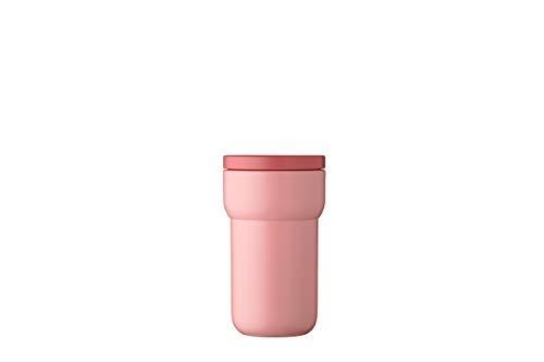 Mepal Reisebecher Ellipse 275 ml-Nordic pink – Togo kaffeebecher-theebecher –auslaufsicher – kompakte Größe – passt in nahezu alle Getränkehalter, polypropyleen