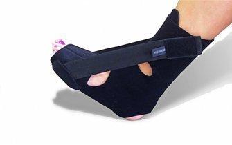 Plantar Fasciitis Heel Pain Soft Night Splint (Large: Men 9-12 Women 11-13)