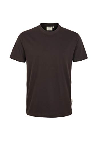 "HAKRO T-Shirt ""Classic"" - 292 - chocolate - Größe: L"