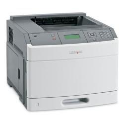 Lexmark T650n monochrom Laserdrucker (A4, 43 S/min, 128MB Speicher, 350 Blatt, USB 2.0) weiß/grau